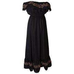 Vintage 1970s Jinty Summer Dress