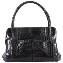 Nancy Gonzalez Linda Bag Crocodile Small