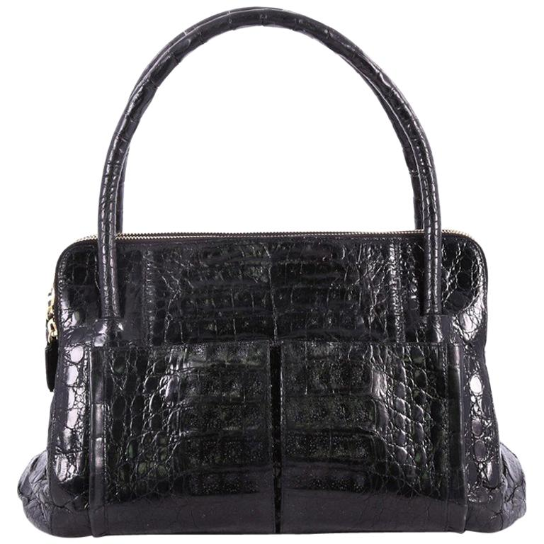 Nancy Gonzalez Linda Bag Crocodile Small