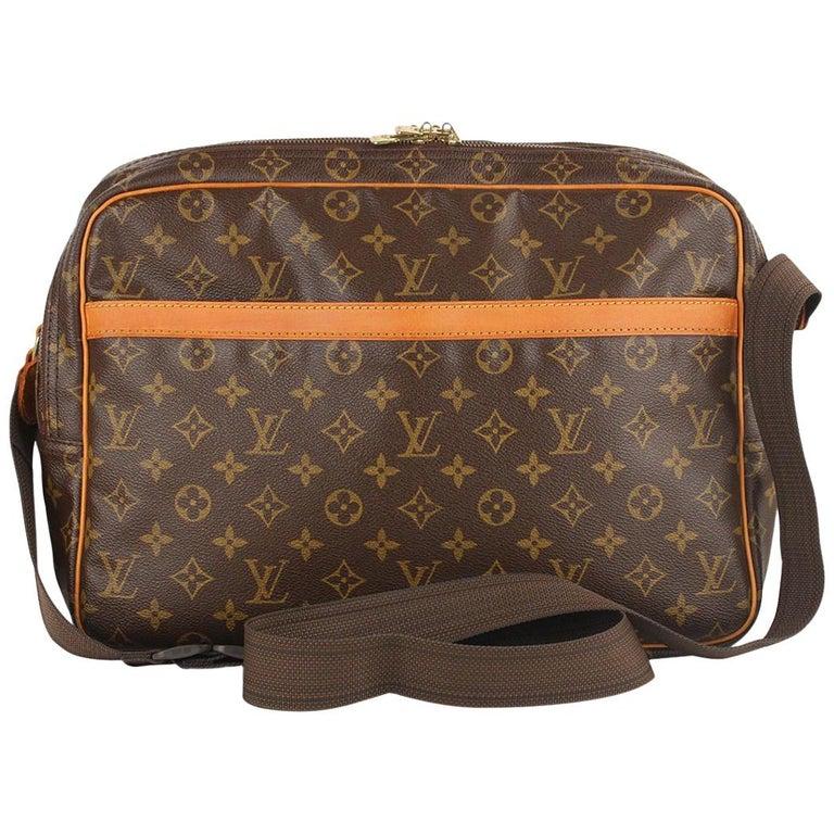 e116fe1250c4 Louis Vuitton Vintage Monogram Canvas Reporter GM Messenger Bag