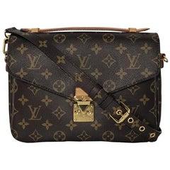 Louis Vuitton Monogram Pochette Metis Crossbody Handbag