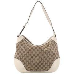 Gucci Charlotte Shoulder Bag GG Canvas Medium