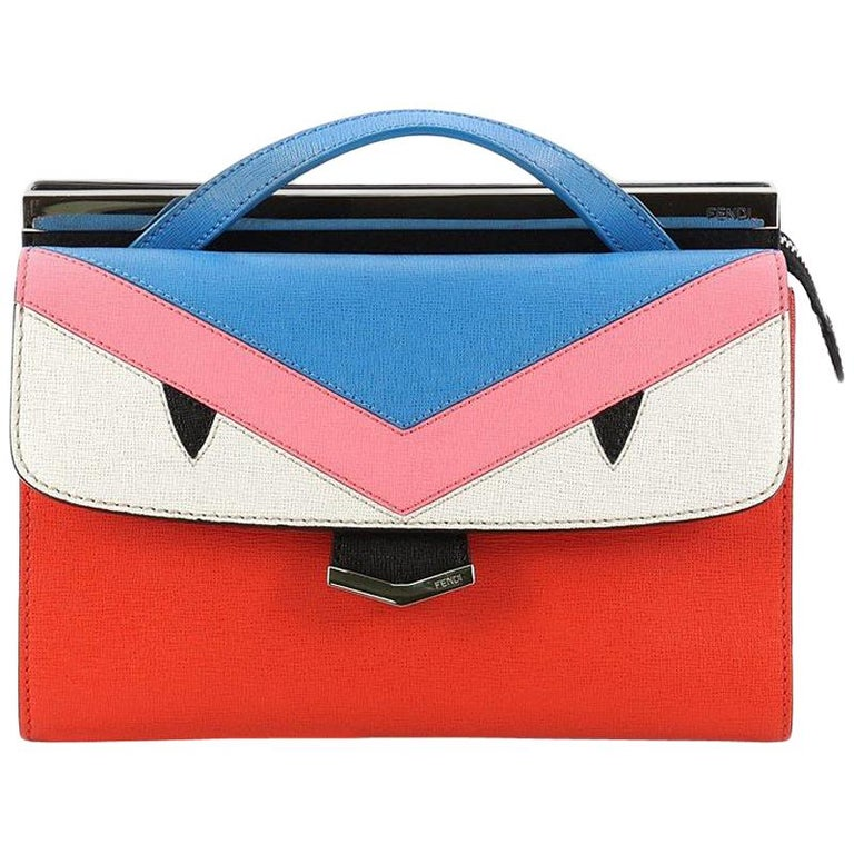 b2d241d9425 ... PursesShoulder Bags. Fendi Demi Jour Monster Satchel Leather For Sale