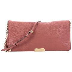 Burberry Mildenhall Shoulder Bag Heritage Grained Leather Medium