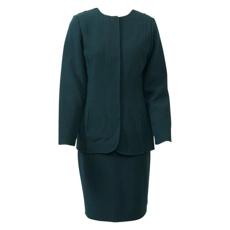 Geoffrey Beene Forest Green Suit