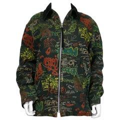 Jean Paul Gaultier Vintage Graffiti Print Jacket