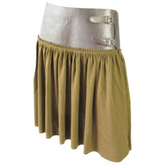 Jean Paul Gaultier Buckle Skirt, 1990s