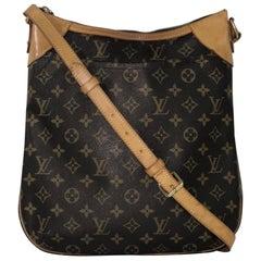 Louis Vuitton Monogram Odeon MM Crossbody Handbag