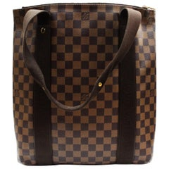 LOUIS VUITTON Damier Canvas Beaubourg Tote Bag
