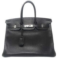Hermes Birkin 35cm Chocolate Brown