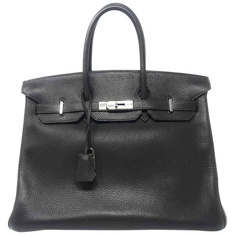 9722addccbe Hermes Birkin 35cm Chocolate Brown For Sale at 1stdibs