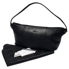 New Gucci Lizard Pochette Baguette Bag