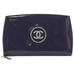 Chanel CC Zip Around Wallet Patent