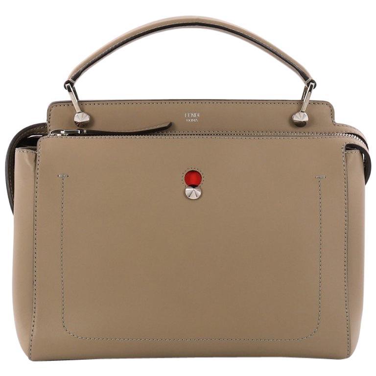 Fendi DotCom Convertible Satchel Leather Medium at 1stdibs eb42035288dac