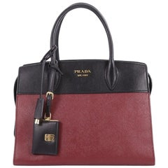 Prada Esplanade Handbag Saffiano Leather Medium