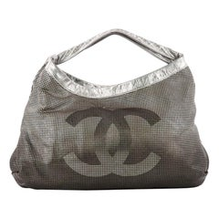 Chanel Hollywood Hobo Perforated Leather East West