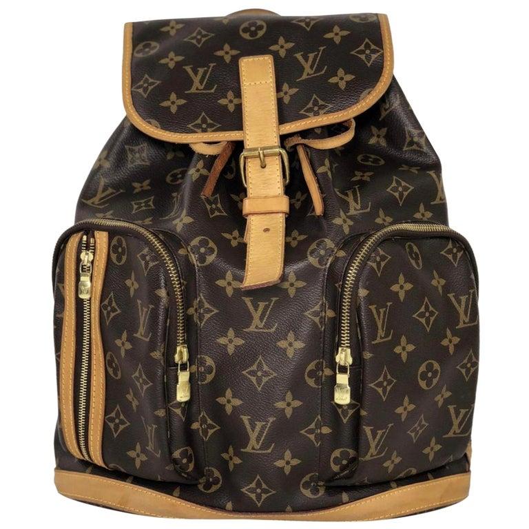 Louis Vuitton Monogram Bosphore Backpack Handbag