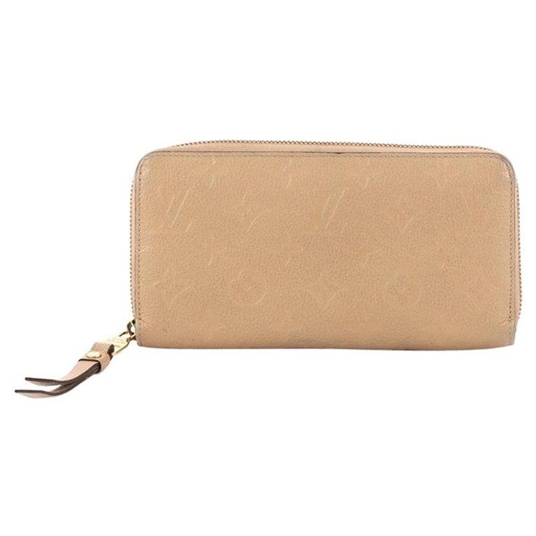 1ce53982604c Louis Vuitton Zippy Wallet Monogram Empreinte Leather at 1stdibs