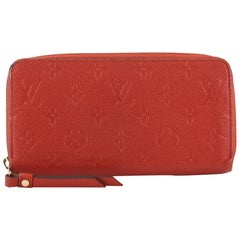 Louis Vuitton Zippy Wallet Monogram Empreinte Leather