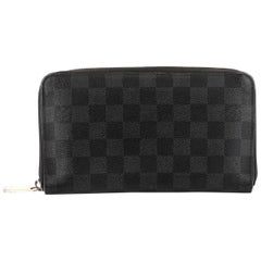 Louis Vuitton Zippy Organizer Damier Graphite