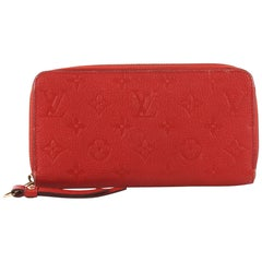 Louis Vuitton Zippy Wallet Monogram Empreinte Leather i