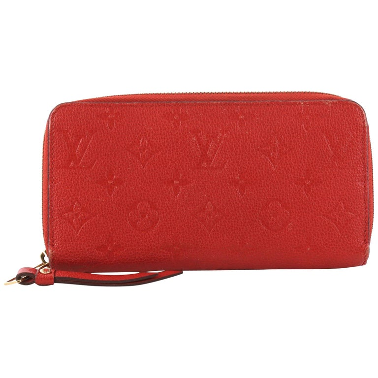 Louis Vuitton Zippy Wallet Monogram Empreinte Leather i For Sale at ... 27f774e4e