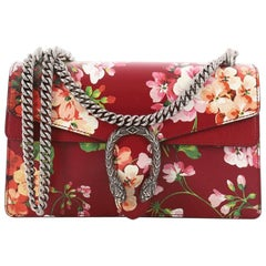 Gucci Dionysus Handbag Blooms Print Leather Small