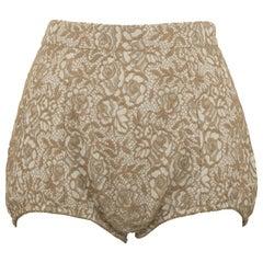Dolce & Gabbana Jacquard Lace Hot Pants - Size IT 40
