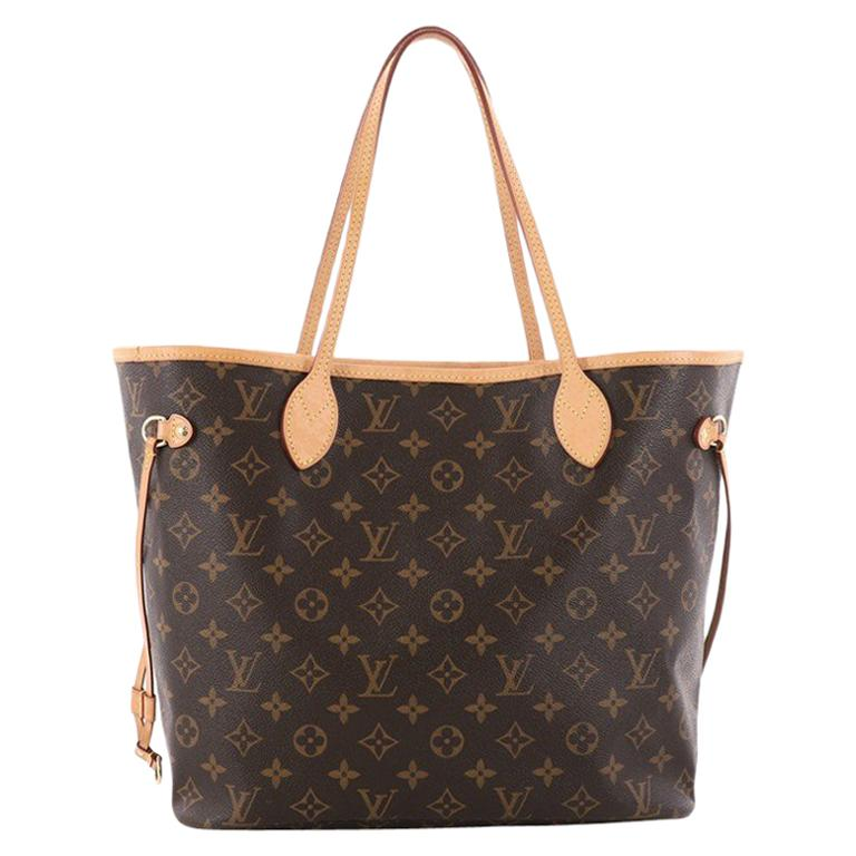 Louis Vuitton Neverfull NM Tote Monogram Canvas MM at 1stdibs 4c6e28823fb