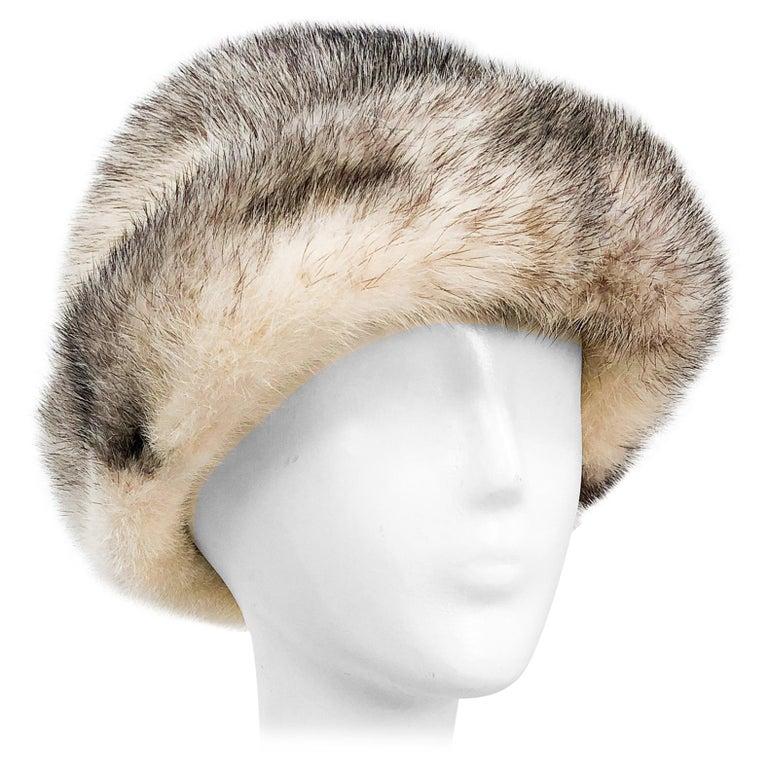 1960s Mink I. Magnin Hat For Sale