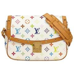 Louis Vuitton White x Multi Monogram Multicolore Sologne