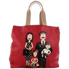 Dolce & Gabbana Open Tote Patchwork Leather Large
