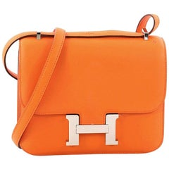 Hermes Constance Handbag Swift 18