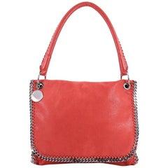 Stella McCartney Falabella Top Handle Flap Bag Shaggy Deer Medium