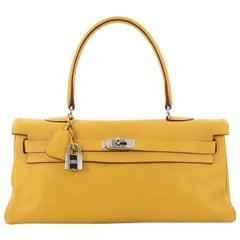 Hermes Shoulder Kelly Handbag Clemence 42