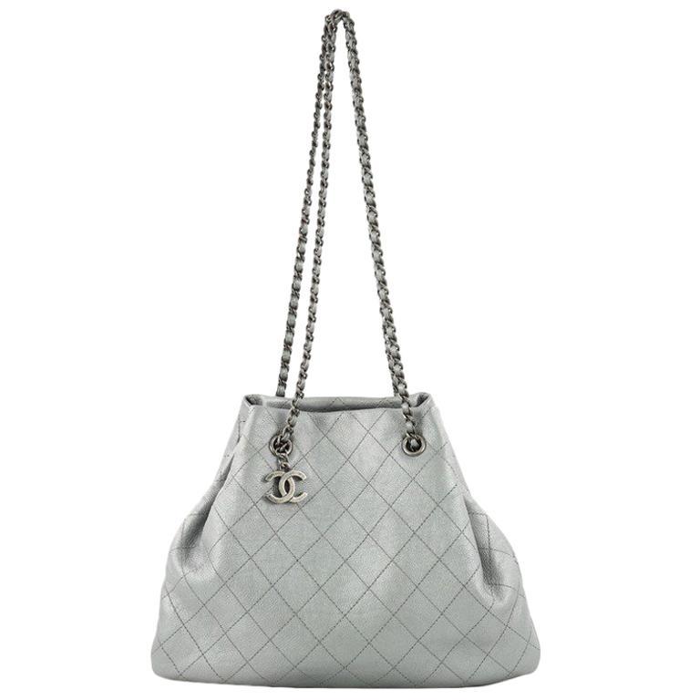 Chanel CC Bucket Bag Quilted Calfskin Medium at 1stdibs d1e48f60d9a64