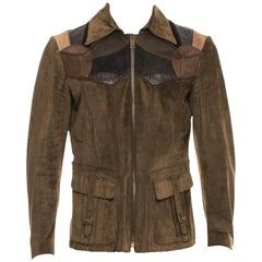 Tom Ford for Gucci Men's Runway Leather Western Jacket, S / S 2004