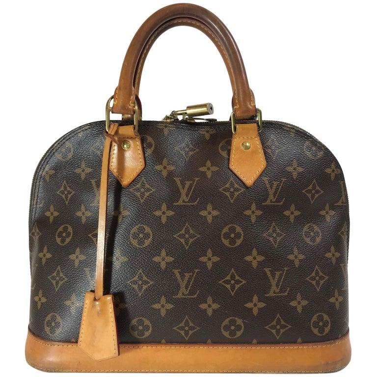 Louis Vuitton Monogram Alma PM Bag