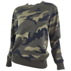 Valentino Camouflage Cashmere Sweater