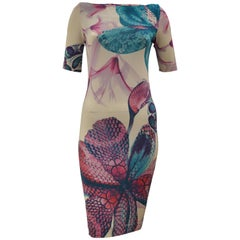 "2013 Just Cavalli ""Sea Print"" Dress 38 (ITL)"
