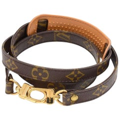 Louis Vuitton Monogram Canvas Shoulder Strap For Medium Bags