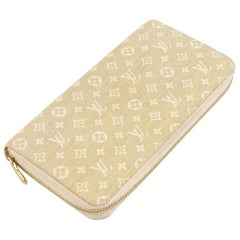 Louis Vuitton Zippy Dune Monogram Mini Lin Canvas Wallet