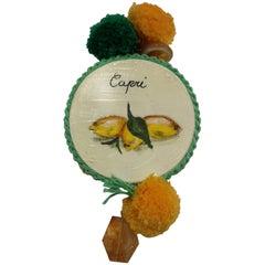 Amlé Capri Tambourine Necklace