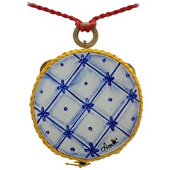 Amlé Handmade Tambourine Necklace