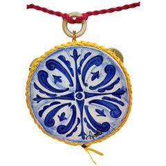 Amlè Handmade Tambourine Necklace