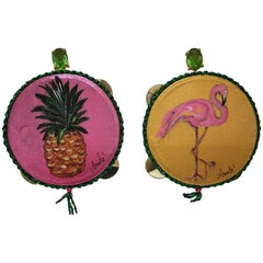 Amlé Handmade Tambourine Earrings