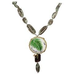 Amlé Capsule Handmade Necklace