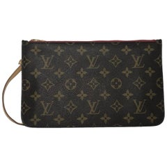 Louis Vuitton Monogram Neverfull MM/GM Pouch ONLY Wristlet Handbag