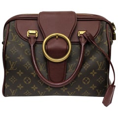 LOUIS VUITTON Limited Edition Bordeaux Golden Arrow Speedy Bag