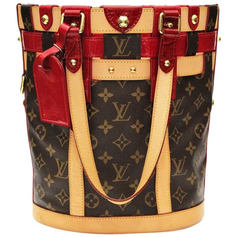 Louis Vuitton Rubis Neo Bucket Bag
